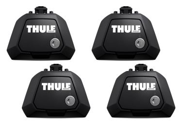 4x Thule Evo Raised Rail