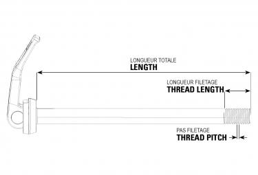 Shimano XTR Ax-MT700 12x142 mm Through-Shaft