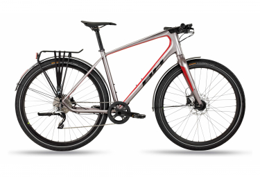 BH Oxford City Bike 700mm Gris / Rouge