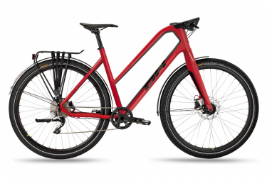 BHOxford Jet Womens City Bike  Rouge / Noir