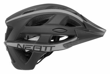 Casque VTT Neatt Basalte Race Noir Gris