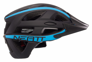 Casco MTB Neatt Basalte Race Nero Blu