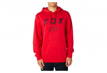 Felpa con cappuccio in pile Fox Legacy Moth rossa / bordeaux
