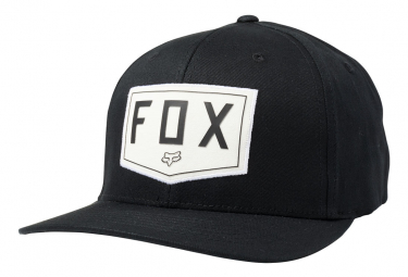 Casquette Fox Shield Flexfit Noir
