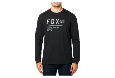 Fox camiseta negra de manga larga sin parar