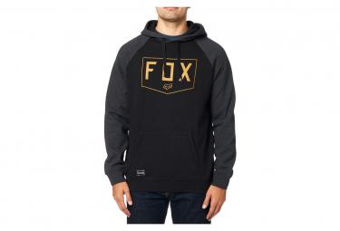 Fox Shield Hoodie Raglan Black
