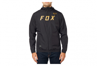 Fox Windbreaker Hoody Black