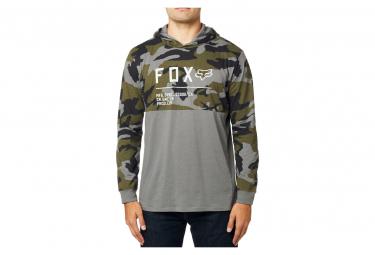 Hoodie Fox Non Stop Knit Camo