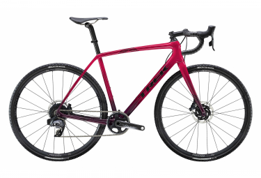Velo Cyclocross 2020 Trek Boone 7 Disc Sram Force AXS 12V Magenta / Mulberry Fade