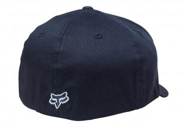 Casquette Fox Flex Flexfit 45 Navy Bleu / Blanc