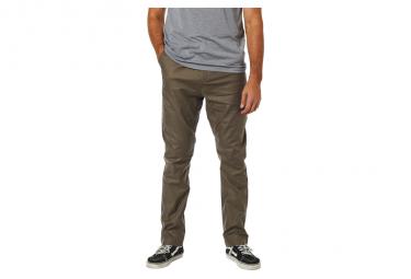 Pantalon Fox Essex Stretch Marron