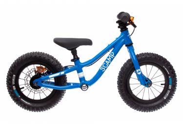 Draisienne SCAMP 12'' MiniFox Bleue avec frein Hope Tech 3 X2 Orange