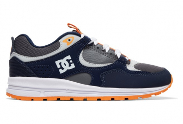 DC Shoes Kalis Lite Blue / Gray Kids Shoes