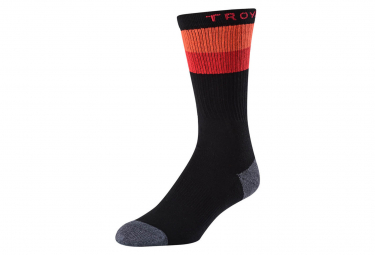 Pair of Troy Lee Designs CHECKER CREW Black Socks