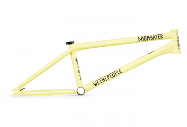BMX Freestyle Frame WeThePeople Doomsayer Matt Pastel Yellow / Yellow / 2019