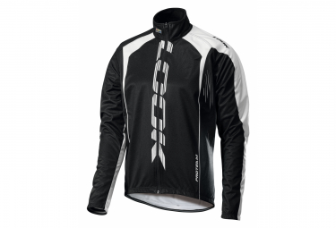 Look Pro Team Windbreaker Jacket Black White
