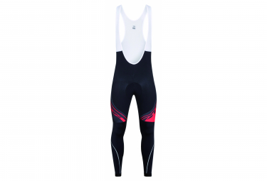Look Pro Team Thermal Bib Tights Black Red