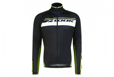 Look Pro Team Windbreaker Jacket Black Neon Yellow