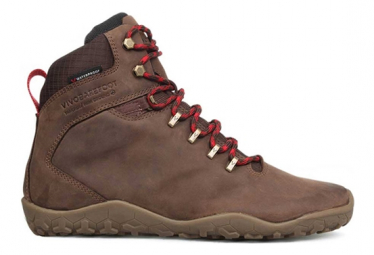 Image of Chaussures vivobarefoot tracker fg cuir marron fonce femme 36