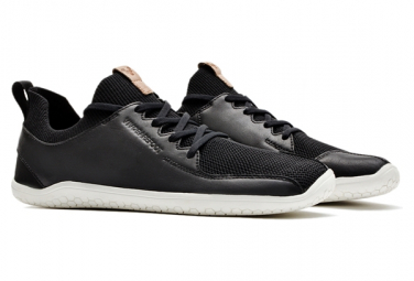 Image of Chaussures vivobarefoot primus knit noir femme 36