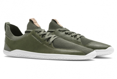 Image of Chaussures vivobarefoot primus knit dusty olive femme 36