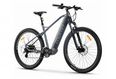 MTB Semi Rígido Eléctrico Moma Bicicletas E-MTB 29 '' Shimano Altus 8V Gris
