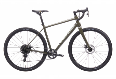Kona Libre AL Gravel Bike Sram Apex 11S 700 mm Earth Grey 2020