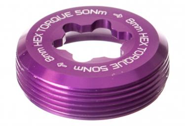 HOPE E-Bike Crank Captive Nut - Purple