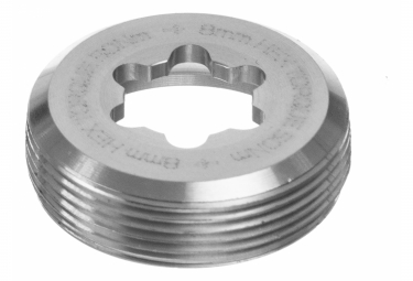 HOPE E-Bike Captive Crank Nut - Silver