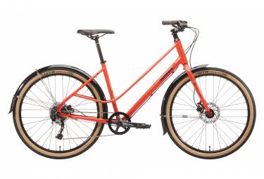 Bicicleta Ciudad Mujer Kona Coco Orange