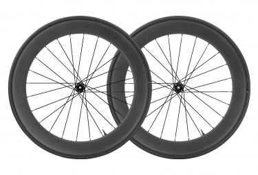 Pair of Mavic 2020 Comete Pro Carbon Disc Wheels UST | 12x100 - 12x142mm