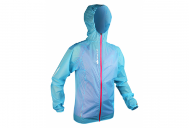 Raidlight Waterproof Jacket Hyperlight MP+ Blue Women