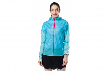 Veste impermeable Raidlight Hyperlight MP+ Bleu Femme