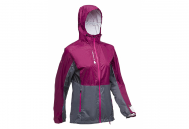 Raidlight Waterproof Jacket Top Extreme MP+ Rose Grey Women