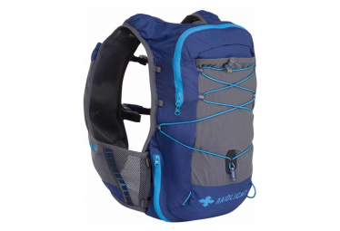 Raidlight backpack activ vest 12l blue grey men l xl