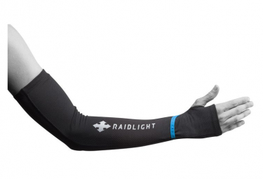 Paire de Manchettes Raidlight Arm Sleeves Noir Unisex