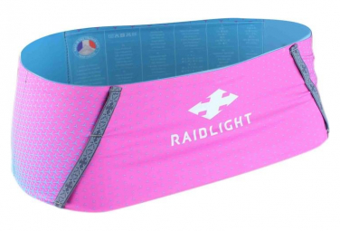 Raidlight Stretch Raider Belt Blue Rose Women