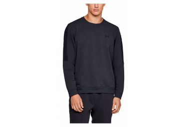 Under Armour Microthread Fleece Crew Sweat Black