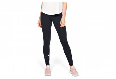 Under Armour Favorite Big Logo Women Long Tights Black