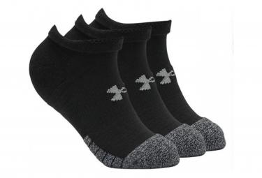 Under Armour Heatgear No Show Socks  Paquete De 3  Negro 42 5 47