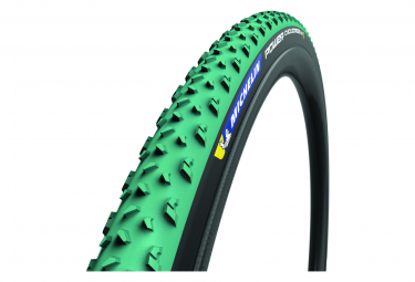 Copertone Michelin Power Cyclocross Mud Cyclocross Pneumatico 700 mm Tubeless Ready Folding Green