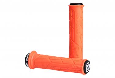 Poignées Fifty-Fifty Single Lock-On Orange
