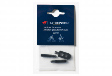 Paire de Prolongateurs de Valves Hutchinson Presta 20 mm