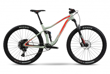 MTB Doble Suspensión BMC Speedfox 03 One 29'' Vert / Rouge / Fluo 2020