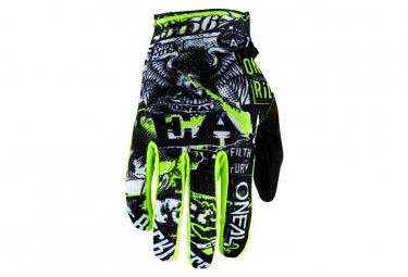 O'Neal MATRIX ATTACK Glove black/neon yellow
