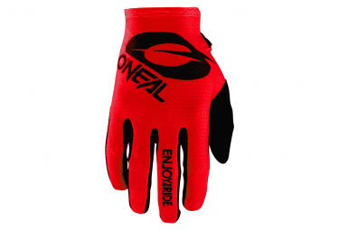 O Neal Matrix Glove Stacked Red S