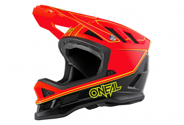 O Neal Blade Helmet Charger Neon Red S  55 56 Cm