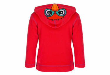 Image of Veste polaire canard kiddo rouge bebe fille regatta 18 24 mois
