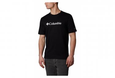 COLUMBIA CSC Basic Logo Short Sleeve T-shirt Black