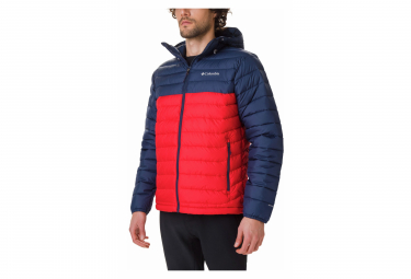 Jacket COLUMBIA Powder Lite Hooded Red